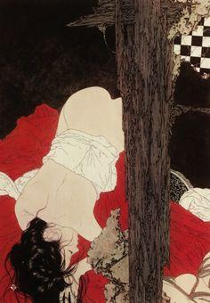 illustration, erotic art, Takato Yamamoto