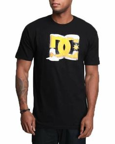 DC SHOES Mens Massive Beer Star Tee Shirt Black NWT #DCShoes #GraphicTee