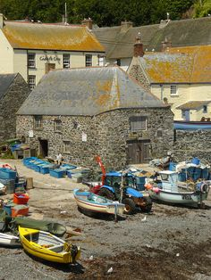 Cadgwith, Cornwall, UK