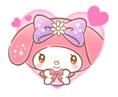 LINE Official Stickers - My Melody: Absolutely Adorable Example with GIF Animation My Melody Sanrio, Hello Kitty My Melody, My Melody Wallpaper, Hello Kitty Wallpaper, Mickey And Friends, Friends In Love, Snoopy New Year, Stickers, Hug Gif