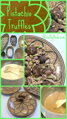 ACraftyArab Pistachio Truffles {Recipe}. My daughter created this pistachio truffle tutorial to share today as I've been out of town taking care of family.  She took all the photos and told me the steps to share with you.   She choose to use pistachio as her nut because we consume a lot of it at home. I grew up …