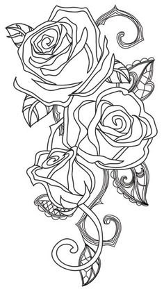 468 Best Floral Coloring Pages For Adults Images In 2019 Coloring