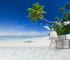 Exotisk strand Tapet