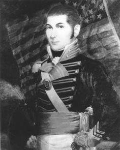 """Lt Presley O'Bannon led the Marine Corps' first battle on foreign soil in 1805 and helped Prince Hamet Bey restore his place as ruler of Tripoli. The battle is mentioned in the Marines' Hymn: """"From the Halls of Montezuma to the shores of Tripoli. Marine Corps Officer, Marine Corps Ball, American War, American History, Barbary Wars, Barbary Coast, The Fog Of War, Us Marines, American Revolution"""