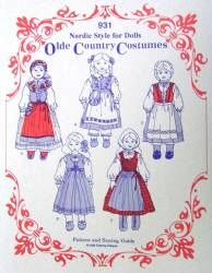 Old Country Doll Costume Kit