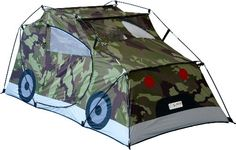 GigaTent Ct 029 MUV Kids Camouflage Car Play Tent Gigakid for sale online Playhouse Outdoor, Canopy Outdoor, Outdoor Play, Indoor Outdoor, Tent Canopy, Indoor Camping, Camping Indoors, Camping Gear, Kids Tents