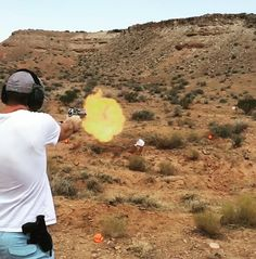 #merica !! Crossed off a bucket list item today by shooting a 50 caliber Desert Eagle hand gun!  #pioneerday #america