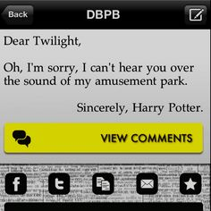 haha!  I'm not a potter head, but I'd choose Harry over Edward any day. And this is still funny...