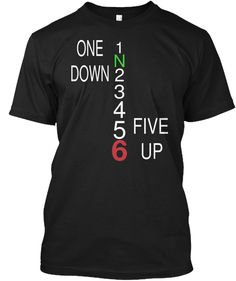 One Down 1 N 2 3 4 Five  Up 5 6 Black T-#mountainbiker, #roadcyclist, #biker, #mountain, #bike lovers. #Cyclist t shirt, #Bicycle shirt, #dirtbiking, Funny Cycling Shirt, Mountain Bike Shirt. Funny motorcyle shirt, biker tee shirts, christian biker shirts, biker girl shirts, biker shirt, Funny Biking shirt, #MountainBike Cycling #DirtBike T Shirt, #motocross tshirt, #rider tshirt, motorcycle tshirt, #BRAAAP tshirt #fathersday, #memorialday, #4thjuly, #independenceday
