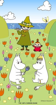 Moomin Wallpaper, Iphone Wallpaper, Little My Moomin, Moomin Valley, Tove Jansson, Old Cartoons, Cute Cartoon Wallpapers, Cute Characters, Fairy Tales