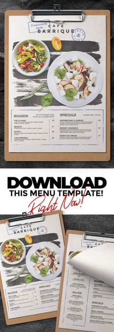 Restaurant Menu #bar #brink #business #cafe #clean #coffee #creative #drinks #elegant #fastfood #flyer #food #foodmenu #menu #menudesign #modern #pizza #printtemplate #restaurant #restaurantmenu #retro #template #vintage