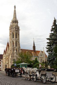 Budapest, Matthias Church, Hungary by Photos Girados, via Flickr