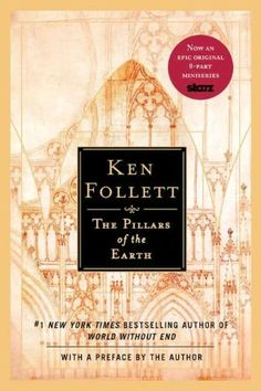The Pillars of the Earth ~ by Ken Follett. Historical fiction at it's best. Politics, Religion, Romance, Betrayal, War, Torture - this book has a little bit of everything. Excellent character development, wonderfully descriptive. Definitely makes my top 10 favorite reads.