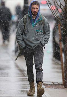 Shia-Labeouf-wears-Patagonia-Lightweight-Synchilla-Snap-T-Fleece ...