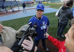 Carl Edwards - Carl Edwards Visits Kansas City Royals