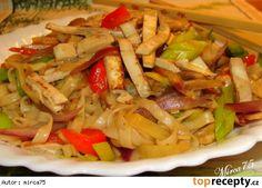 Nudličky ze Šmakouna (Shmaky) na čínský způsob