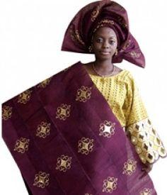 Aso-oke traditional wear for women