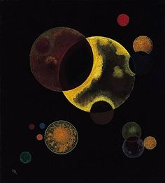 Heavy Circles, 1927  Wassily Kandinsky