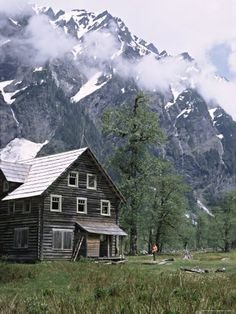 The Chalet in the Enchanted Valley, Olympic National Park, Washington, USA