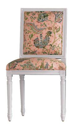 Tilton Fenwick Chair - Gibbie in Coral | domino.com