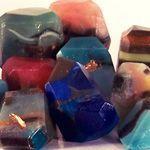 Soap Rock Tutorial - How to make gemstone soap rocks