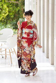 NO.1641 正絹 京友禅|成人式の振袖販売、振袖レンタルの京都きもの友禅