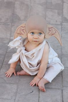 I'm going to love the years when your child is too young to decide on a Halloween costume so you can dress them up in a way that amuses you. @Aimée Gillespie Hukill i can see you making this a family costume.