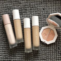 Shop FENTY BEAUTY by Rihanna at Sephora. Discover the new generation of beauty inspired by women of all shades, attitudes and cultures. Makeup You Need, Fancy Makeup, Smokey Eye Makeup, Skin Makeup, Beauty Makeup, Kylie Makeup, Makeup Goals, Rihanna Fenty Beauty, Hourglass Makeup