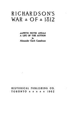Richardson's war of 1812