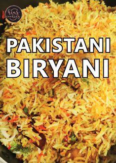 Pakistani Biryani - Cook Pakistani Style Biryani at Home Rice Recipes, Indian Food Recipes, Asian Recipes, Vegetarian Recipes, Chicken Recipes, Cooking Recipes, Pakistani Food Recipes, Ethnic Recipes, Arabic Recipes