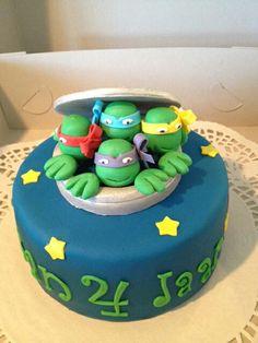 Ninja Turtles (Demi's Cupcakes & Taarten )