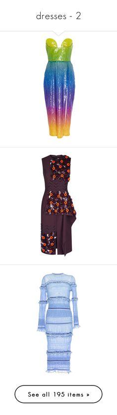 """dresses - 2"" by explorer-14181574792 on Polyvore featuring dress, dresses, ombre dress, midi cocktail dress, bustier dress, strapless bustier, strapless cocktail dress, maroon, maroon dress и purple a line dress"