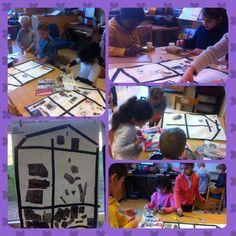 t Startblok groep 1/2 | Groepswerk: welke kamers heeft een huis en wat staat er in? Overleggen, bladeren, zoeken, knippen & plakken maar!