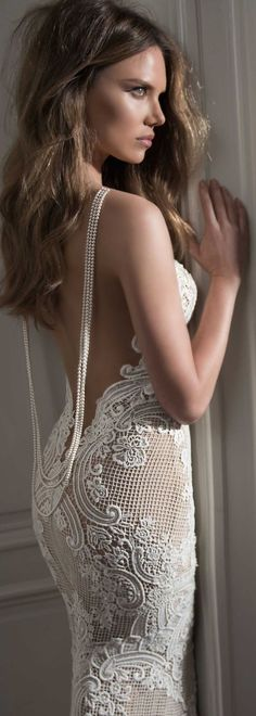 berta bridal wedding dress 2015 crochet - Google Search