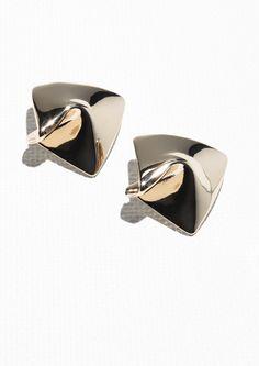 & Other Stories | Tissue Earrings
