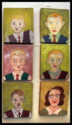 Ceramic Portraits