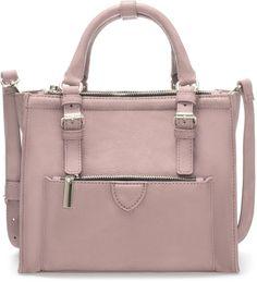 Zara Mini City Bag With Zip Details on shopstyle.com