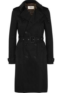 Saint Laurent   Gabardine trench coat   NET-A-PORTER.COM
