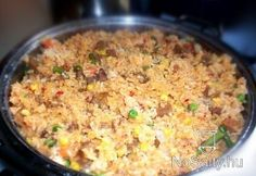 Mexikói rizses hús Fried Rice, Main Dishes, Vegetables, Ethnic Recipes, Food, Main Course Dishes, Entrees, Essen, Main Courses