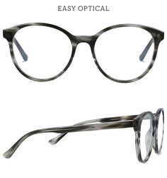 Battatura Stella Brown Misty Wood from Easy Optical Eyewear, Glasses, Brown, Easy, Style, Wood, Swag, Eyeglasses, Eyeglasses