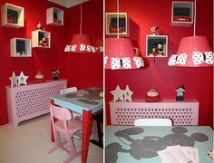 Disney at Home - Disney Kinderkamer Meubels Decoratie met Mickey ...