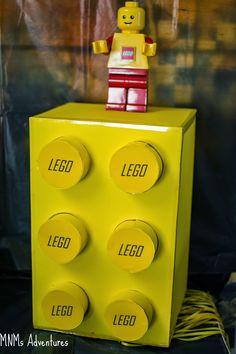 LEGO brick piñata - how to make a ribbon pull version