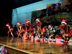 thriller and jingle bell rock by 5 year olds