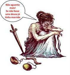 A Deusa Themis, simbolo da justiça, no Maranhão parece uma mendiga.