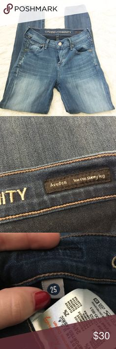 Citizens of Humanity Avedon Skinny Jeans In amazing condition, worn once. No trades, 25% off of bundles! Citizens Of Humanity Jeans Skinny
