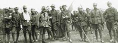 Arditi del IX°Reparto d'assalto dopo la conquista del Col Moschin 16 giugno 1918