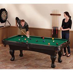Fat Cat 7 ft. Kansas Billiard Table - 64-0147