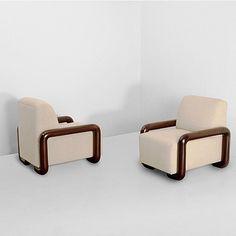 A pair of Art Deco Armchairs; Sofa Bed Design, Living Room Sofa Design, Home Room Design, Living Room Designs, Bed Furniture, Furniture Design, Wooden Sofa Set Designs, Art Deco Chair, Oct 31