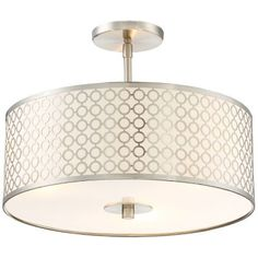 """Dots Semi-Flushmount by George Kovacs at Lumens.com. 16"""" D, 12.5"""" H. $207.90 retail price on Lumens. Front Room possibility."""
