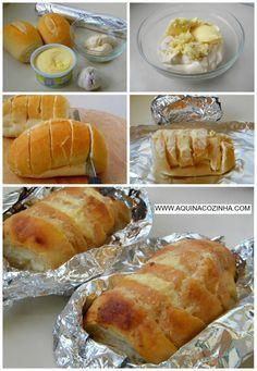 Pão de alho                                                                                                                                                                                 Mais